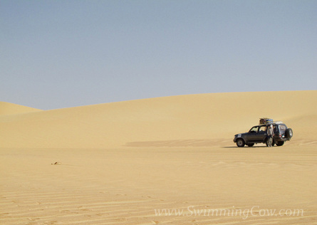 Stage 3: Through the Sand Valley